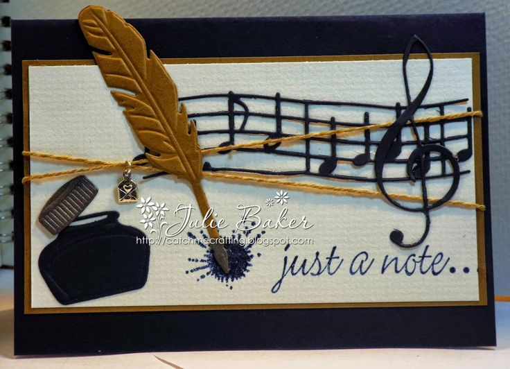 Julie's Blog - Catch Me Crafting: New Marianne Quill and Ink set