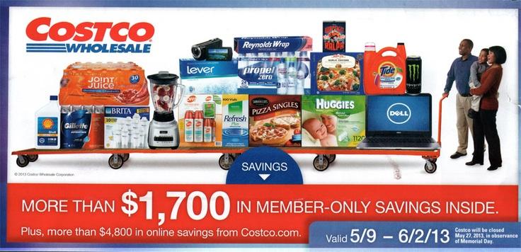 Costco Coupon Book – May 9 – June 2, 2013 –  Coupons, Online Sales, Deals - QueenBeeCoupons.com