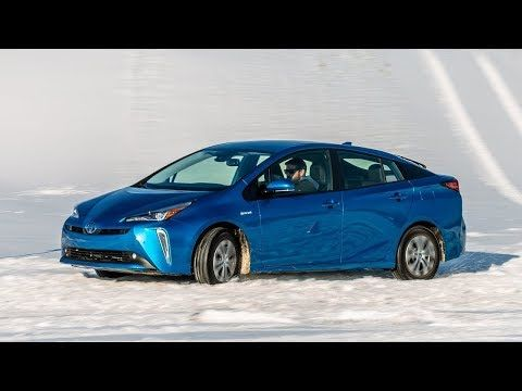 2019 Toyota Prius Awd First Drive Review Snow Can T Stop 50 Mpg