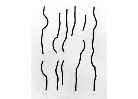 Homenaje Johann Sebastian Bach (carpeta) 1997 sérigraphie - E. Chillida