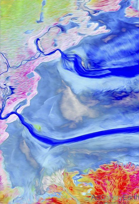 Australia Lake Eyre - Australia: A view over Lake Eyre in northeast South Australia.