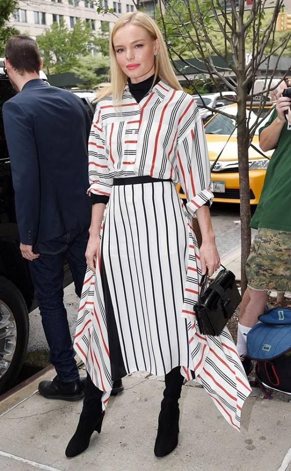 Kate Bosworth in TOME & STUART WEITZMAN