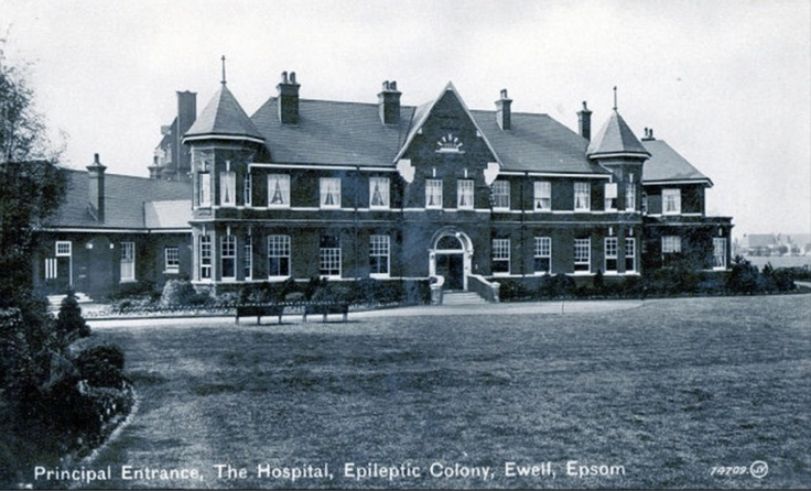 Ewell Epeleptic Hospital in Epsom, Surrey, England. Formerly called St Ebbas Hospital.