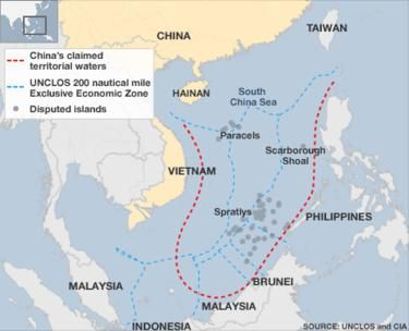 Best South China Sea Images On Pinterest Asia The South And - Economic zones southeast asia map