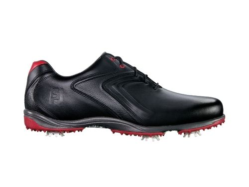 FootJoy HydroLite Golf Shoe - Black/Red #50048 size 8