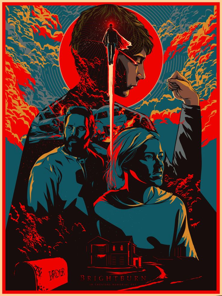 BRIGHTBURN_color variant in 2020 Talenthouse, Poster