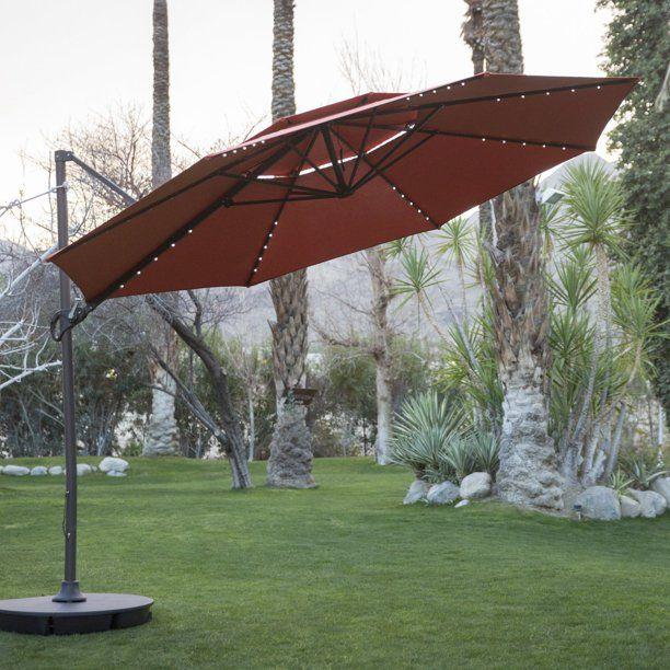 coral coast offset patio umbrellas
