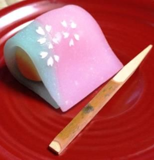Wagashi, tea sweet.