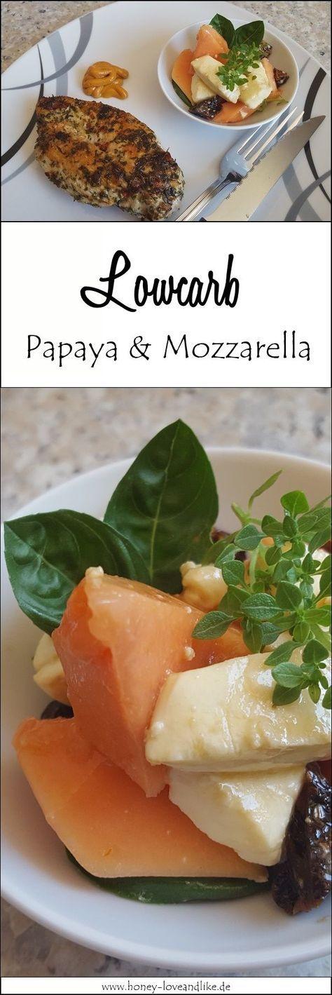 Absolut Lowcarb! Hühnchenbrust und mediterraner Mozzarella Salat