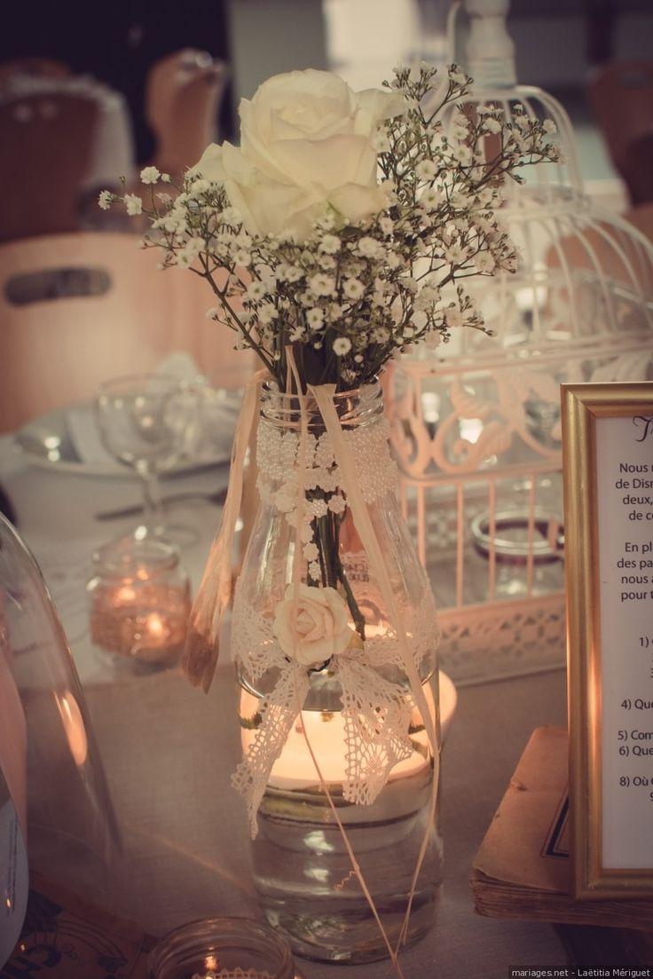 32 idées de centres de table avec fleurs