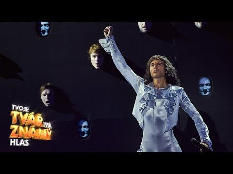 "David Gránský  jako Freddie Mercury - ""Bohemian Rhapsody""   Tvoje tvář má známý hlas - YouTube"