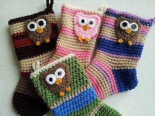 Crochet Christmas Stocking: Free Pattern | Poochie Baby Crochet Designs