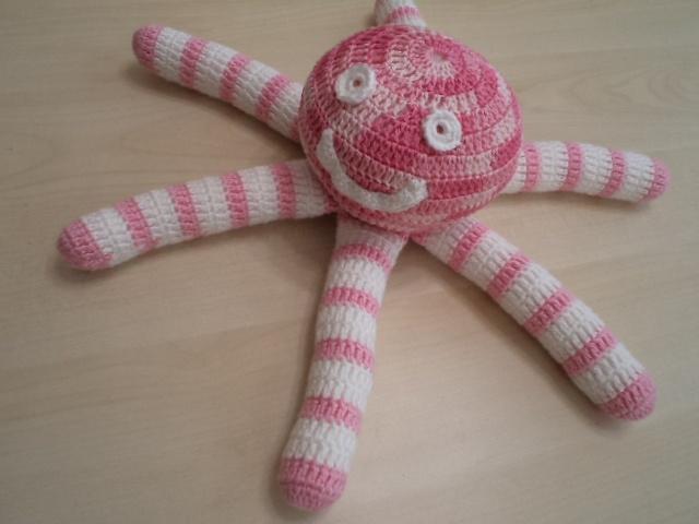 Little crochet octopus..