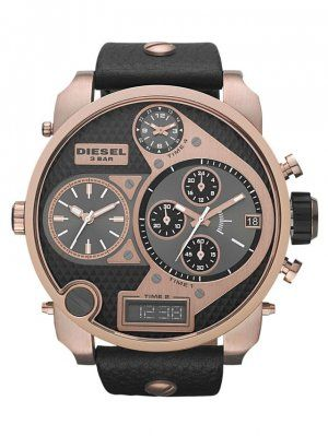 Diesel DZ7261 Men's SBA Mr.Daddy Rose Gold Chronograph watch.  Stand out in the…