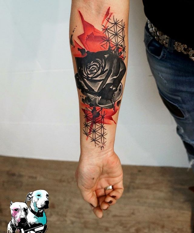 Best 25+ Trash Polka Tattoo Ideas On Pinterest