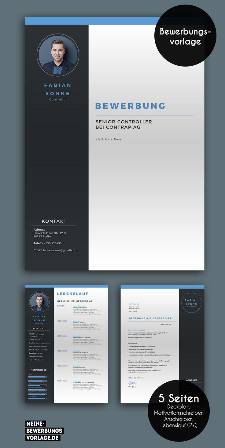 No. 3 | Lebenslauf design, Bewerbung layout und Lebenslauf ...