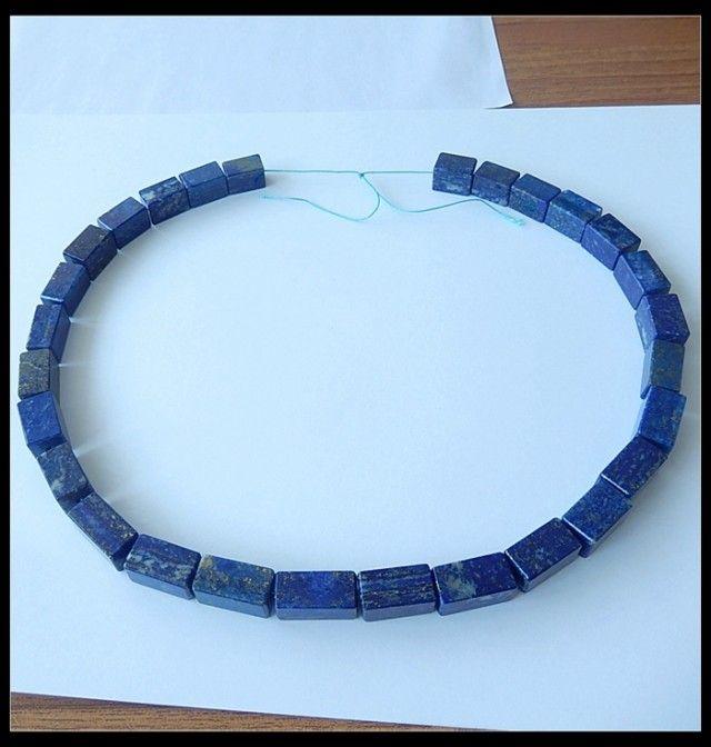480CT Natural Lapis Lazuli Gemstone Bead Strands,For Lapis Necklace,43cm  NATURAL LPIZ LAZULI  GEMSTONE NECKLACE FROM GEMROCKAUCTIONS.COM