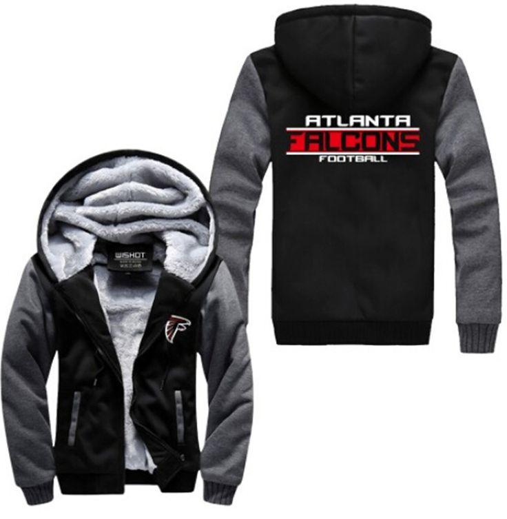 Football Jacket Hoodie w/ Logo