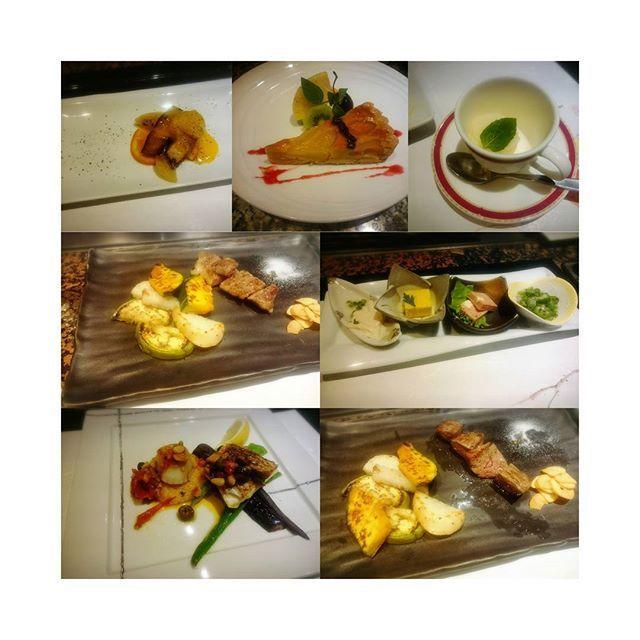 このあいだの鉄板焼dinner🍴💗 ぜ~んぶおいしくて幸せすぎる時間を 過ごせました( ´͈ ૢᐜ `͈ૢ)・*🌹♩︎ こういう時間をまた過ごせるように がんばります...💗✨ ごちそうさまでした💗💗💗 #ふじた#新宿ワシントンホテル#ワシントンホテル#都庁前#新宿#tokyo#鉄板焼#ステーキ#steak#しゃぶしゃぶ#黒毛和牛#お肉#肉#おいしい#delicious#ディナー#dinner#🍴#💗#🌹