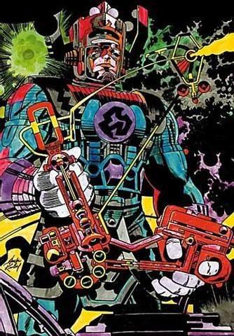 Galactus - by the undisputed KING, Jack Kirby. Beautiful, kinetic, cosmic...