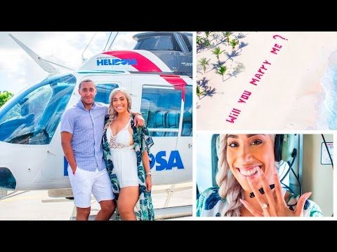 HELICOPTER BIRTHDAY PROPOSAL SURPRISE !! 💍 🚁 (LAILA'S GETTING MARRIED) - YouTube