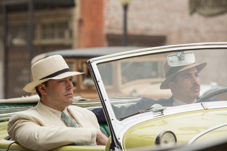 Ben Affleck and Chris Messina in Live By Night (2)