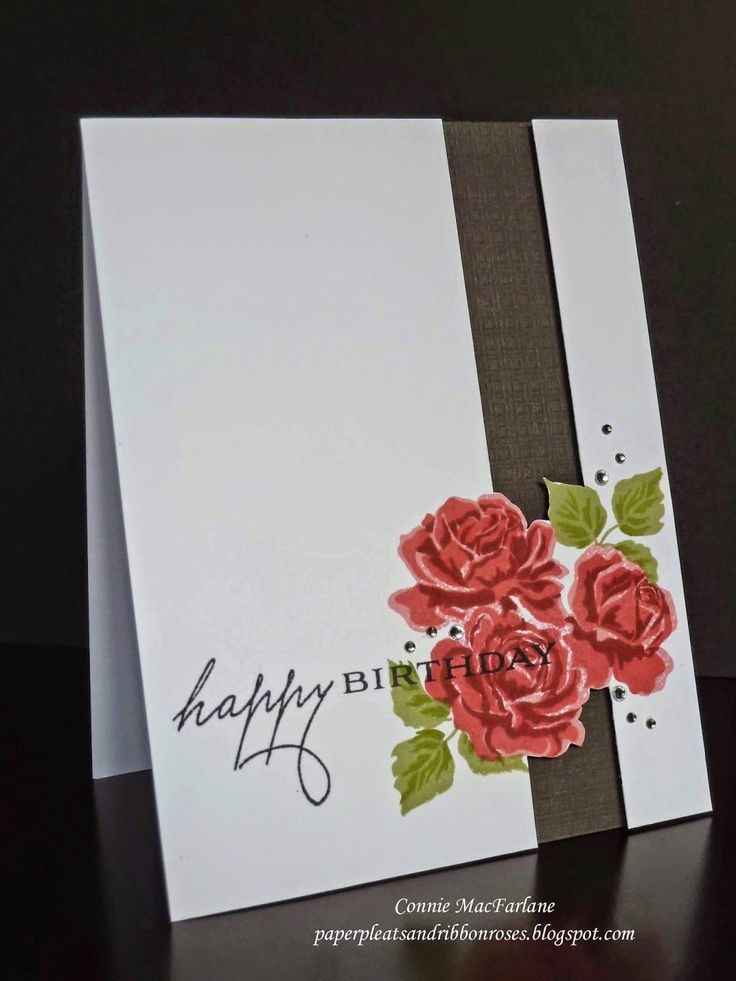 Paper Pleats and Ribbon Roses: Papertrey Ink September Blog Hop - Cozy Colours