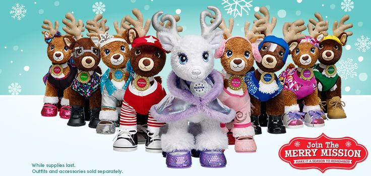 Join the Merry Missions at Build-A-Bear Workshop - Coupon Codes, Discounts   Best Deals for Kids