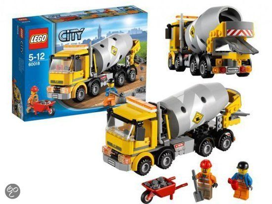 LEGO Cementwagen - 60018