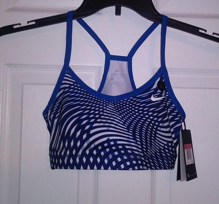 Nike Dry Fit Sports Bra Girls Size Large #Nike