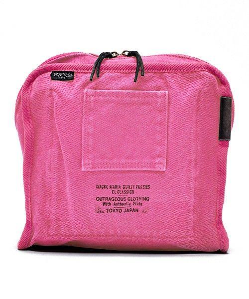 B印 YOSHIDA(×PORTER)のWACKO MARIA×PORTER×B印 YOSHIDA CLUTCH BAG Sです。こちらの商品はBEAMS Online Shopにて通販購入可能です。