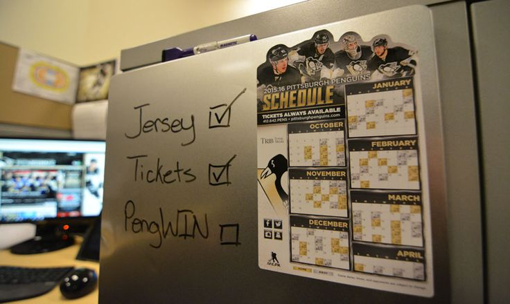 All fans in attendance for the home opener on Tuesday, October 13, 2015 will receive a Penguins schedule magnet and an LED wrist band.