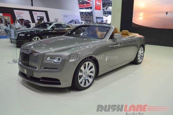 Rolls Royce Dawn India launch on 24th June