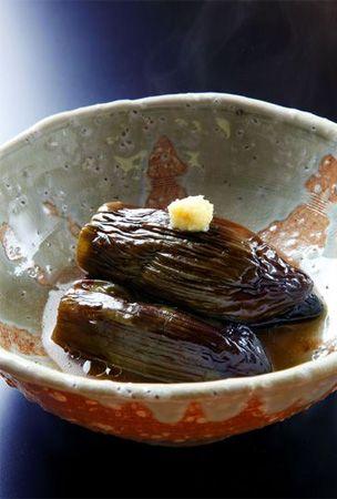 Japanese simmered eggplant