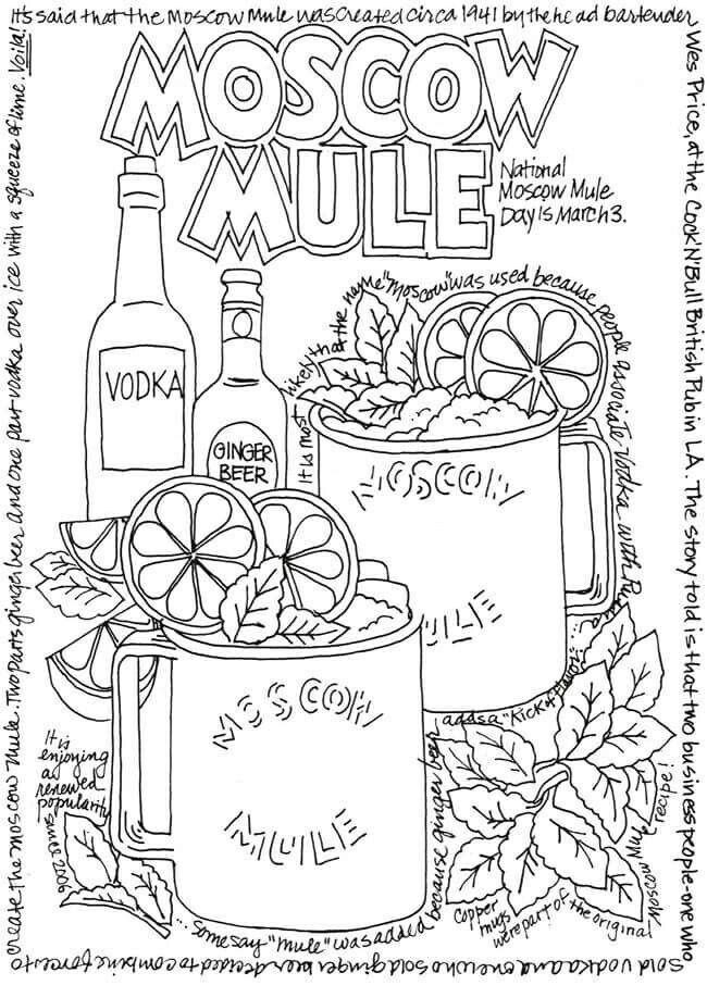 Free Coloring Page From Dover Publication S Facebook Page Food Coloring Pages Creative Haven Coloring Books Coloring Books