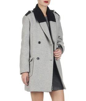 Jusqu'à -50%. E-shop Manteau En Laine Gris Kookai pour femme sur Place des tendances Groupe Printemps. Retrouvez toute la collection Kookai pour femme.