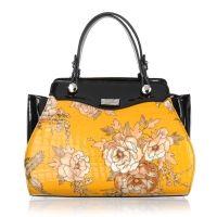 Serenade Wendy Elegant Patent Leather Handbag