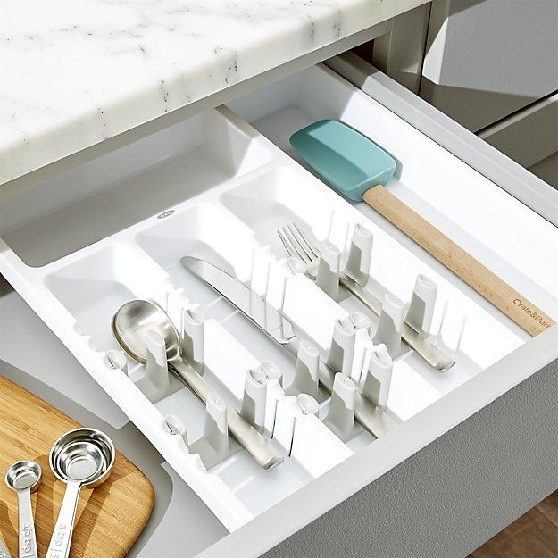 OXO ® Expandable Utensil Organizer | Crate and Barrel