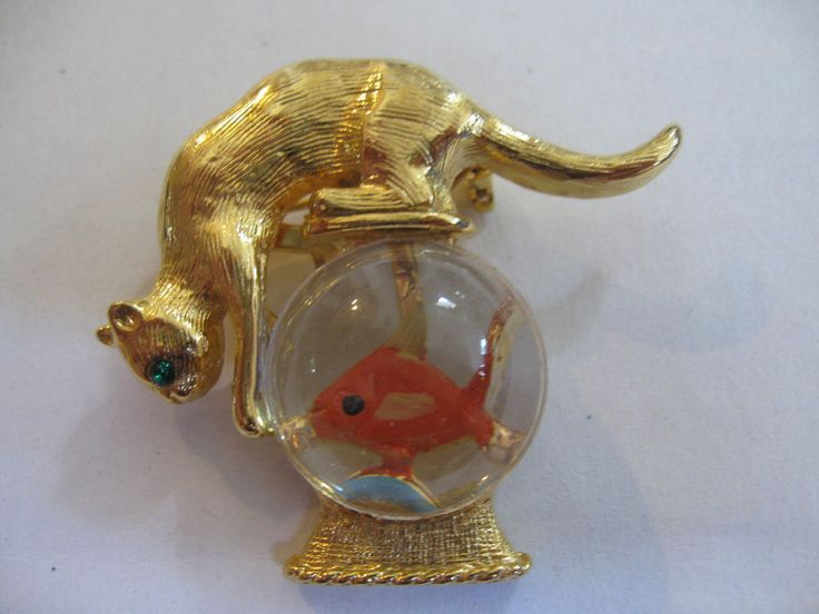 17 best images about cat with fish bowl jewelry on for Best fish for bowl