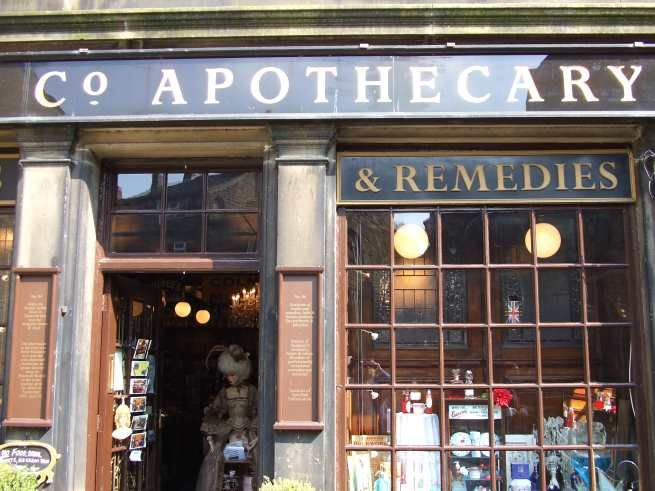 store front: Life Apothecaries