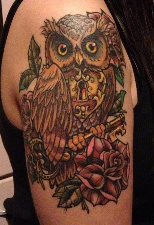 1000 images about body art on pinterest for Owl heart tattoo