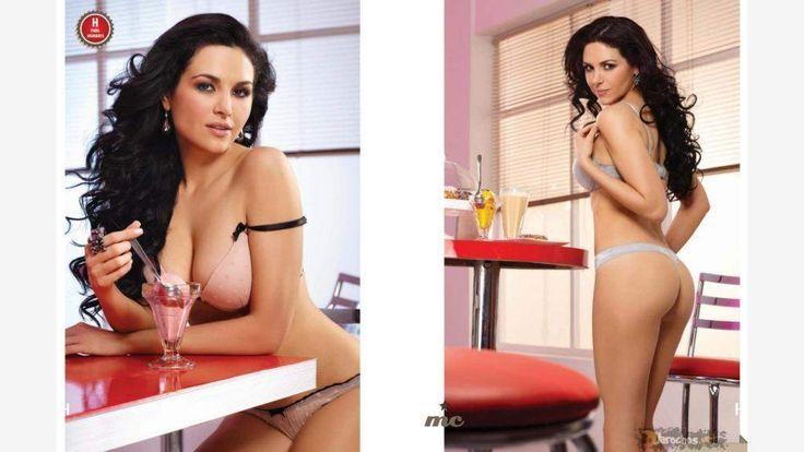 mayte carranco hot   Fotos de Mayte Carranco Revista H para Hombres Junio 2011 - Futbo en ...