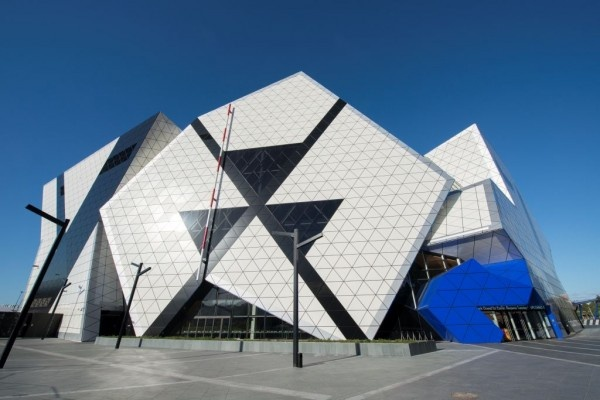 Perth Arena Eternity puzzle in Perth \ ARM in association with CCN Architects