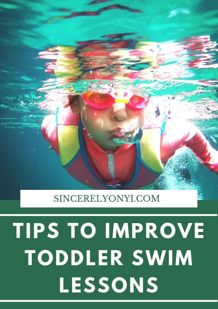 Tips To Improve Toddler Swim Lessons Swim Lessons Toddler Swimming Swimming