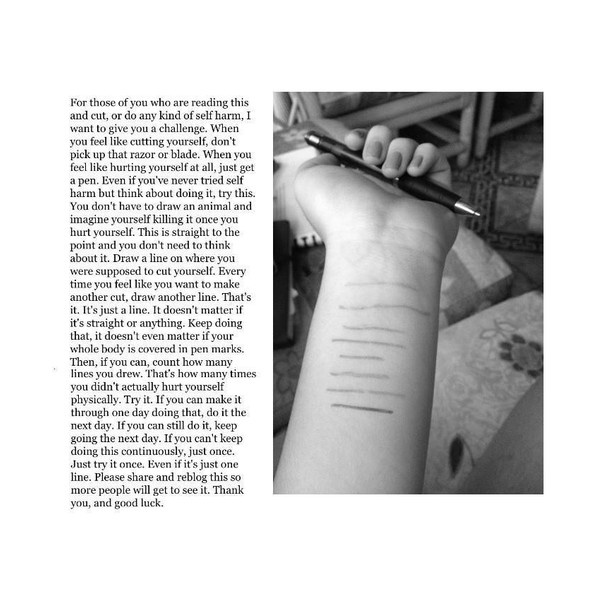Depression Cutting Quotes: Self Harm/Bullying/Suicide