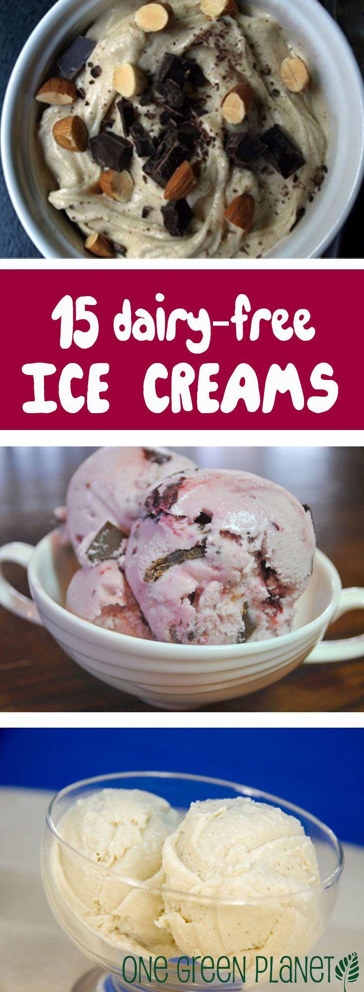 15 Dairy-free Ice Creams to Enjoy This Summer http://onegr.pl/1qZdATG #summer #vegan #recipe