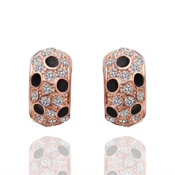 Британский кейт принцесса диана уильям обручальное серьги платиновый покрытие австрийский хрусталь элемент Earringss ювелирные изделия E440