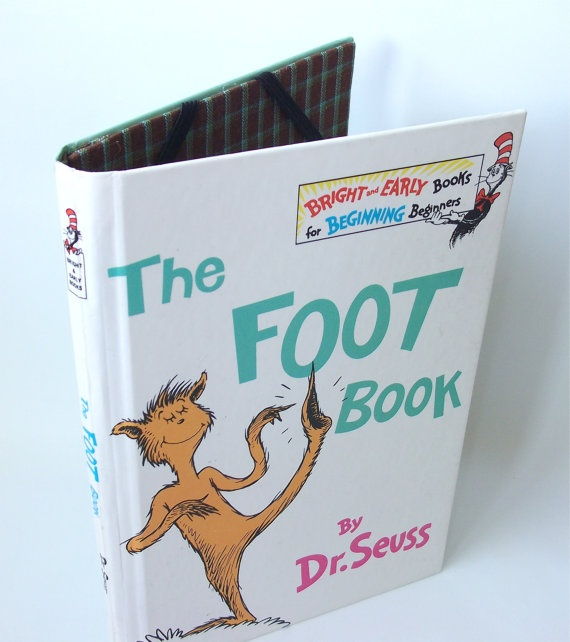 Dr Seuss Foot Book Ereader Cover for Kindle Nook by ...