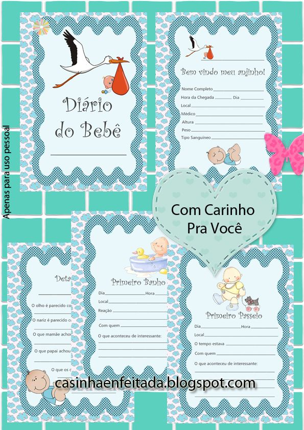 diario do bebe para imprimir gratis baixar download                                                                                                                                                      Mais