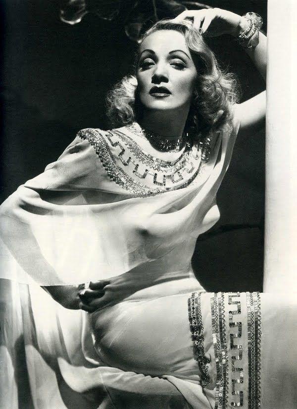 Marlene Dietrich in Gilbert Adrian, 1946.